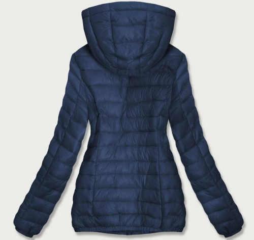 Moderná dámska prešívaná dlhá bunda