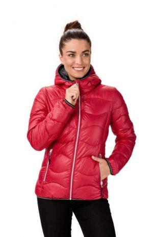 Dámska prešívaná bunda do pása v rôznych farbách