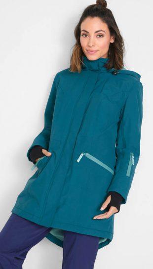 Funkčná dlhá dámska outdoor bunda