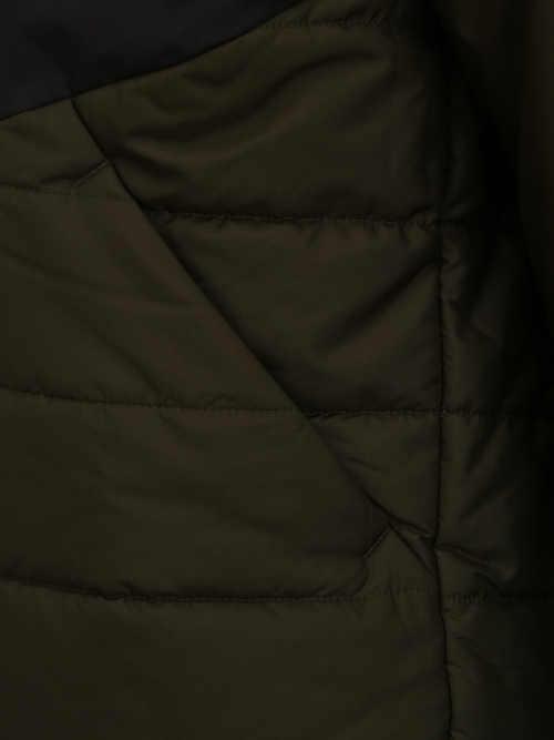 Kvalitná a nadčasová pánska prešívaná zimná bunda