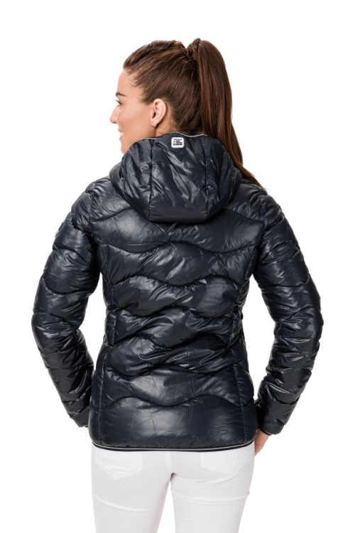 Prešívaná krátka dámska bunda