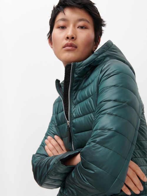 Kvalitná prešívaná zimná bunda