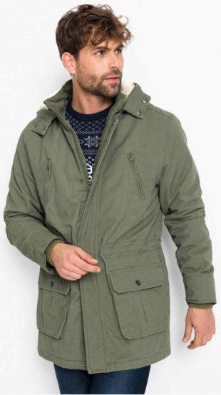 Pánska zimná bunda s teplým polstrovaním