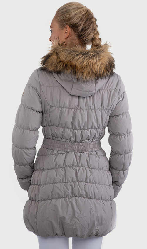 Sivý dámsky športový kabát