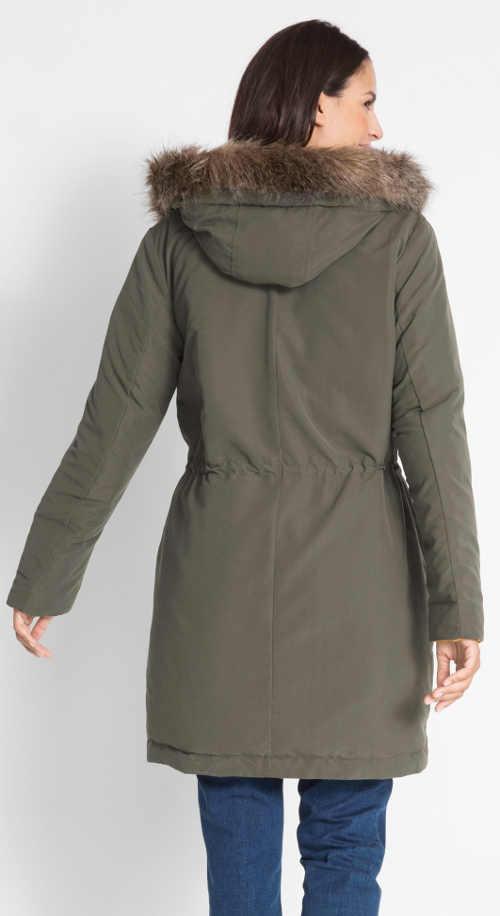 Dámska obojstranná bunda s praktickou kapucňou