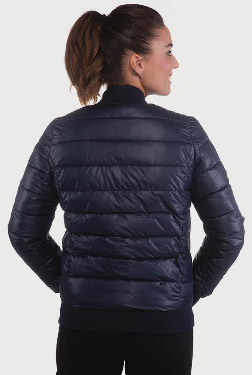 Lacná dámska zimná bunda do pása