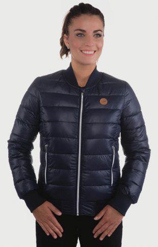 Ľahká dámska zimná bunda na celý zips SAM 73