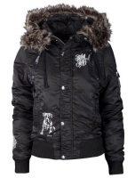 Moderná dámska zimná bunda