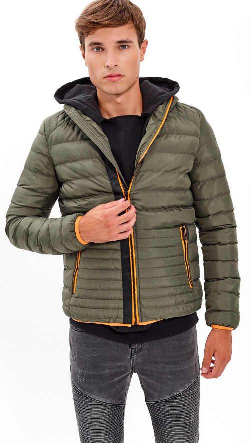 Pánska prešívaná zimná bunda