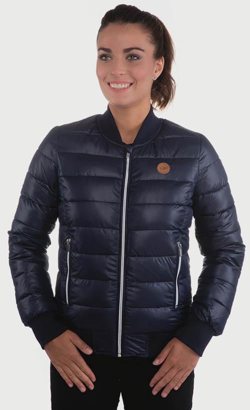 Priliehavá krátka dámska zimná bunda