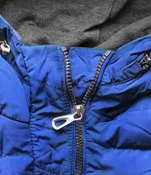 Teplá zimná bunda s kapucňou
