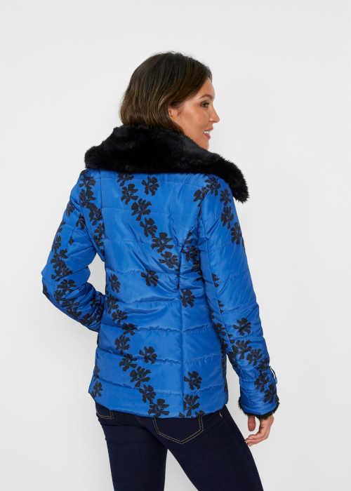 Dámska zimná bunda v kratšej dĺžke