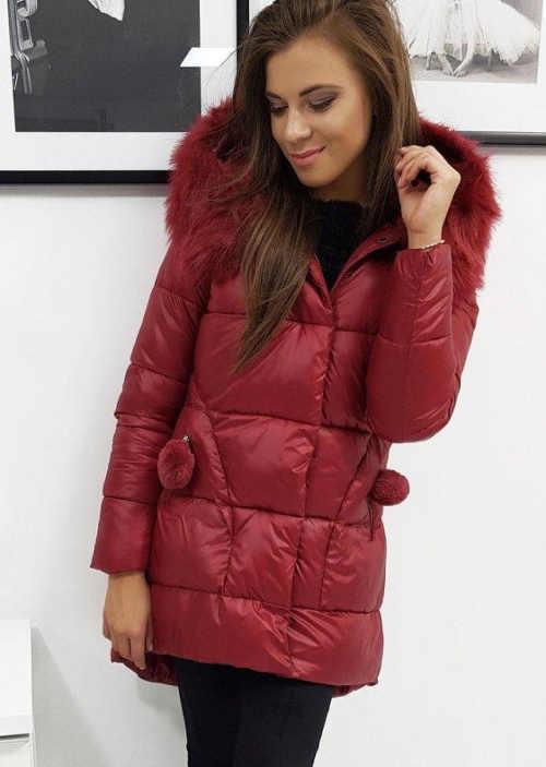Moderná prešívaná bunda na zimu pre dievčatá a ženy
