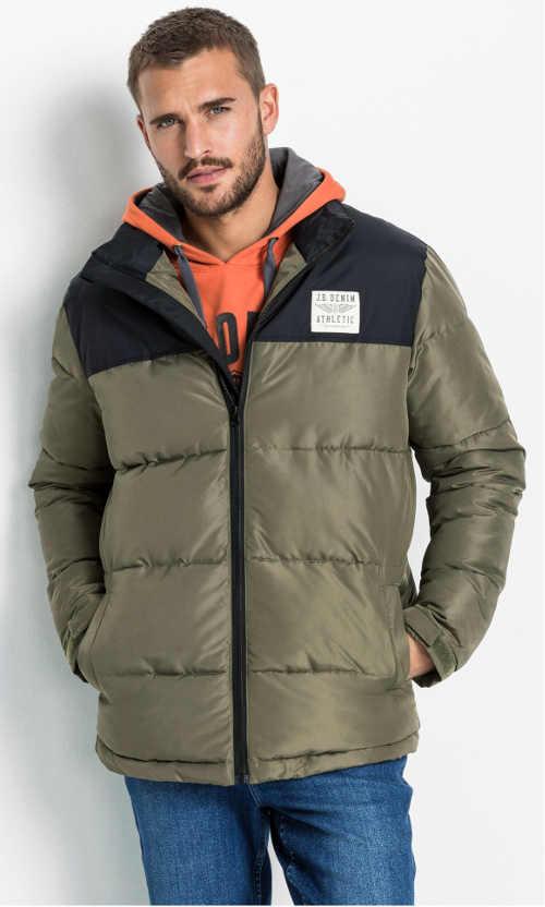 Pánska zimná bunda z kvalitného nepremokavého materiálu